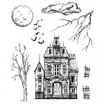 Cling Stamps Tim Holtz - Sketch Manor