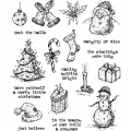 Cling Stamps Tim Holtz - Tattered Christmas