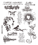 Cling Stamps Tim Holtz - Urban Chic