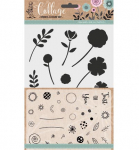 Collage (Stencil and stamp Set) - Flowers For You