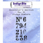 Collectors Edition No. 36 Stamps - Grunge Numbers