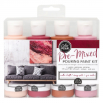 Color Pour Pouring Paint Kit - Amber