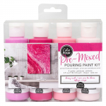 Color Pour Pouring Paint Kit - Berry