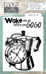 Coosa Crafts Clear Stamps - Wake me Up