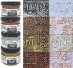 CraftEmotions Wax Paste Set - Metallic 4