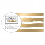 Craft Tape - Elements Metallic Gold Stripe
