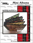 Crealies Mini Albums Stanze - Bindesystem A