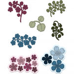 Cut and Emboss Dies - Wildwood Florals