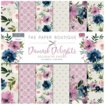Damask Delights 8x8 Decorative Paper Pad