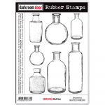 Darkroom Door Cling Stamps - Bottles
