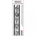 Darkroom Door Cling Stamps - Filmstrip Seashells