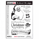 Darkroom Door Cling Stamps - Joyful Christmas