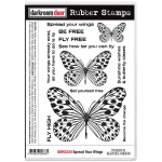 Darkroom Door Cling Stamps - Spread Your Wings