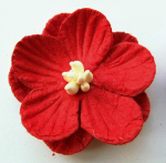 Decoration Paper Flowers - red