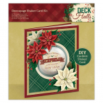 Decoupage Shaker Card Kit - Deck The Halls