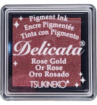 Delicata Small Ink Pad - Rose Gold