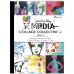 Dina Wakley Media Mixed Media Collage Collective 2 - Volume 1