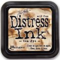 Distress Ink Kissen - Tea Dye