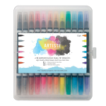 DoCrafts Artiste Watercolor Dual-Tip Brush Marker