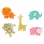 Dress It Up Embellishments - Baby Safari