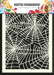 Dutch Mask Art Schablone - Spider Web