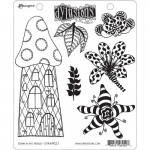 Dylusions Cling Stamps - Down in the Woods