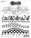 Dylusions Cling Stamps - Further Around The Edge