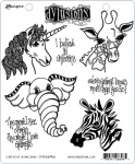 Dylusions Cling Stamps - I Believe in Unicorns