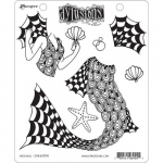 Dylusions Cling Stamps - Merlady