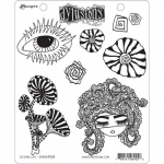 Dylusions Cling Stamps - Ocean Life