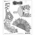 Dylusions Cling Stamps - Sunshine Girl