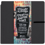 Dylusions Creative Black Square Journal 8x8