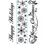 Embossing Folder - Border Seasonal