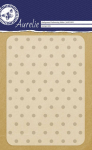 Embossing Folder - Grunge Dots Background