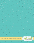 Embossing Folder - Raindrops