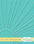 Embossing Folder - Walking On Sunshine
