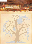 Embossing Folder With Die Cut - Wonderful Autumn Nr. 5
