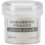 Embossing Pulver - Silver Pearl