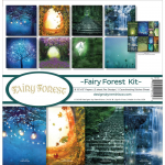 Fairy Forest W/Fireflies and Unicorn 12x12 Collection Kit