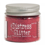 Festive Berries Distress Glitter