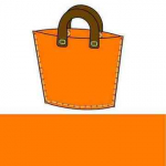 Filztasche Starter-Set Modell 4 Orange