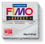 Fimo Effect - metallic silber