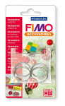 Fimo runde Fassung 25 mm