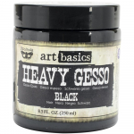 Finnabair Art Basics Heavy Gesso - Black