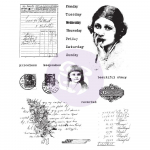 Finnabair Cling Stamps - Beautiful Story