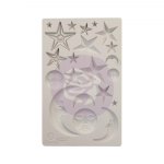 Finnabair Decor Moulds - Star and Moons