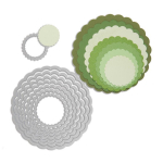 Framelits Die Set - Circles Scallop