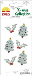 Glitter Sticker Christmas Tree silber