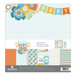 Hello Baby Boy Paper Crafting Kit