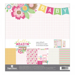 Hello Baby Girl Paper Crafting Kit